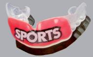 スポーツ用マウスガードの効果